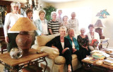 The British Club enjoyed tea at the home of Sheelagh Simpson