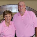 Opal Larkin and Tom Shepherd Flight 1 winners
