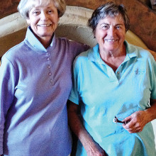 Closest to the Hole: Helen Suess and Agnes Kowal