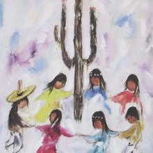 DeGrazia's Children Dancing
