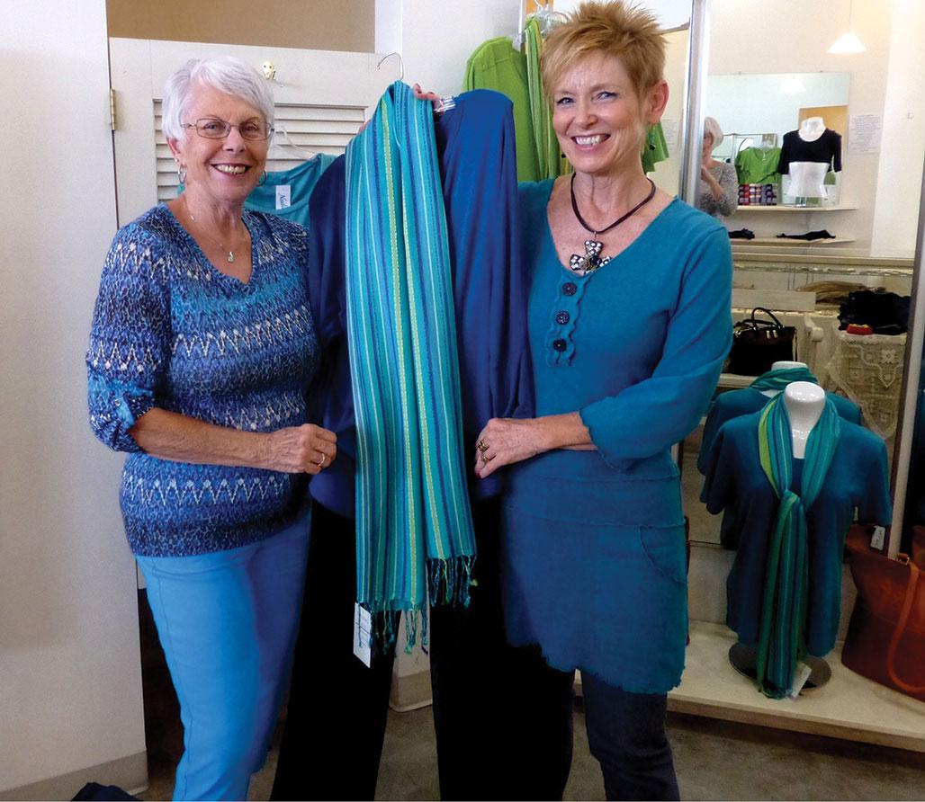 Nadine's Desert Fashions suggests a new spring wardrobe.