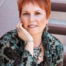 Author and guest speaker, Susan Parker