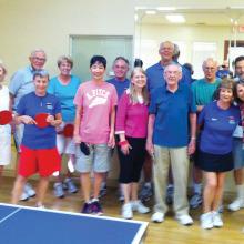 Table Tennis Club photo by Marshall Carman