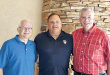 SaddleBrooke Community Church Pastors, left to right: Gary Williams, Steve Wilson and Ron Gannett