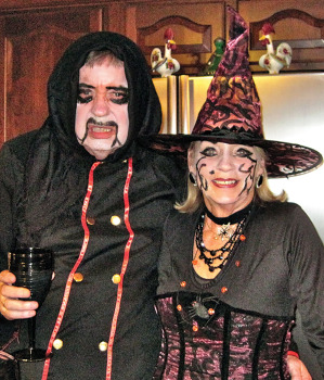 Brian and Cheryl Mundy held the Halloween party.