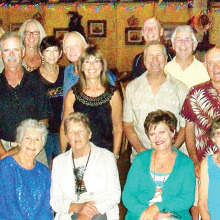 Volleyball Club members and guests enjoyed dinner and karaoke at the Cadillac Chaparral Steakhouse.