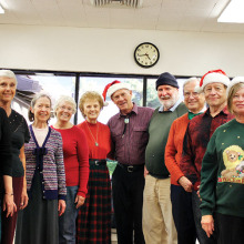 English Country Dancers during last year's holiday season