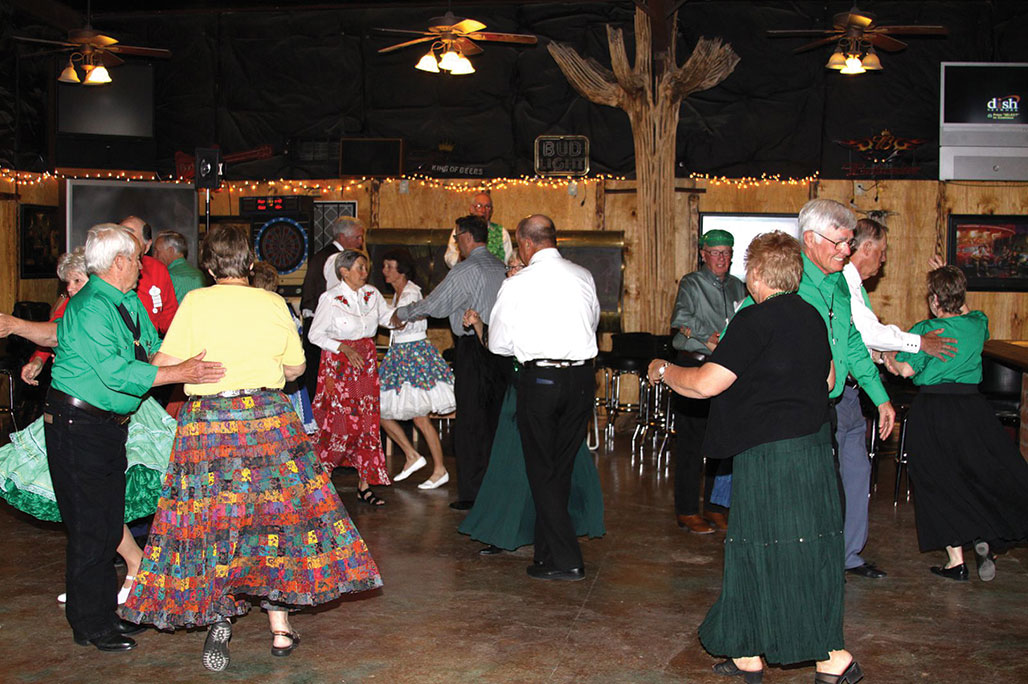 Members of the SaddleBrooke Squares enjoyed a great dinner and dance at the Cadillac Chaparral on October 30!