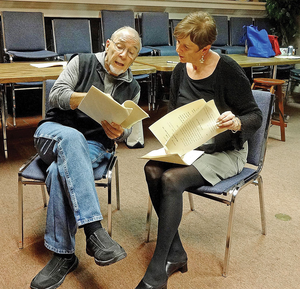 Ron Andrea and Karen Moore in hot auditions!