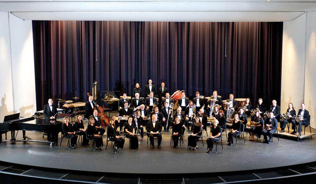 The Tempe Symphonic Wind Ensemble