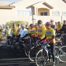 The Cyclemasters perform many charitable functions for the SaddleBrooke community.