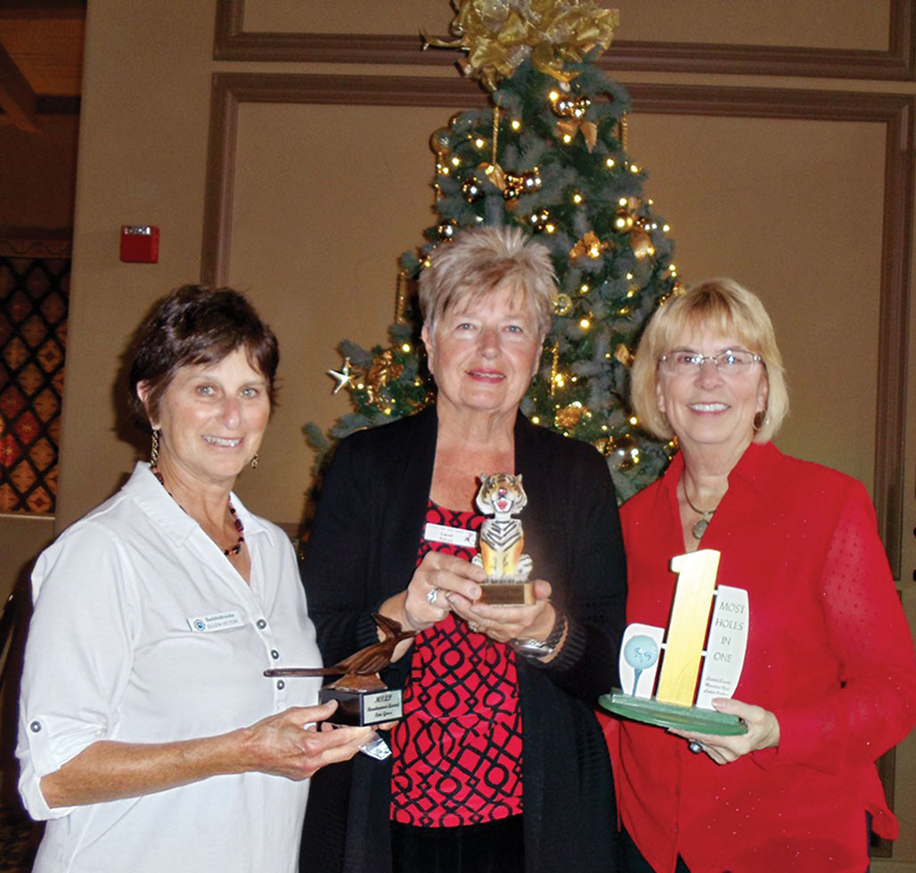MLVP December Winners: Ellen Victor, Carol Ratza and Sandy Strack