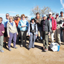 Helping to clean up the Arizona National Scenic Trail last month were, left to right: Elaine Fagan, Steve Wehmann, Marilynn Smith, Ray Peale, Jan Springer, Elisabeth Wheeler, Shawn Redfield, Jackie Hall, Roger Rove, Fred Norris, Don Washco and Arlene Gerity; photo by Sandra Sowell.