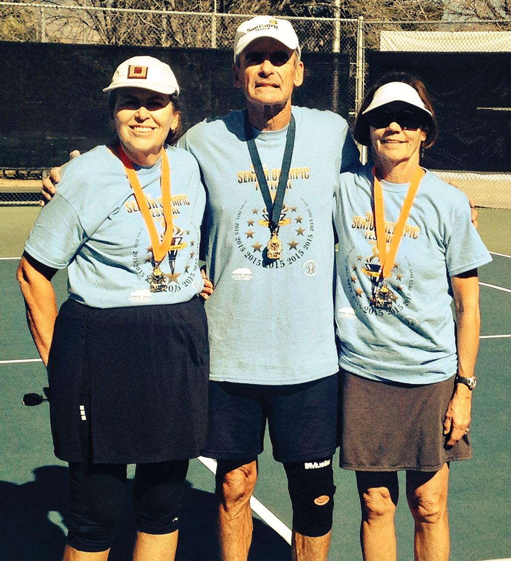 Left to right: Melanie Murphy, Bob Stocks and Kathy Jensen