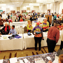 Fifty five clubs were represented at this year's fair.