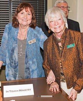 In Touch Ministry, Connie Saiz and Sue Reggentin
