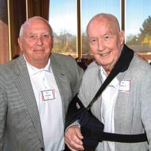 Earl T. O'Loughlin and James A. McDivitt