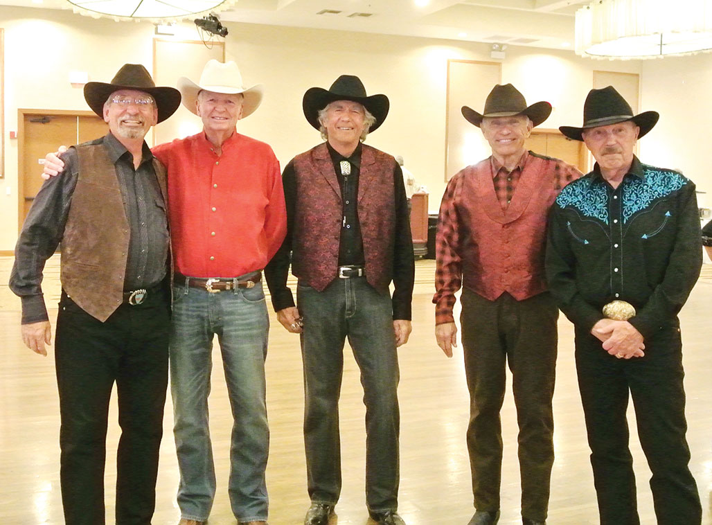 These SaddleBrooke cowboys are ready to dance!