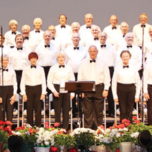 The SaddleBrooke Singers in concert.