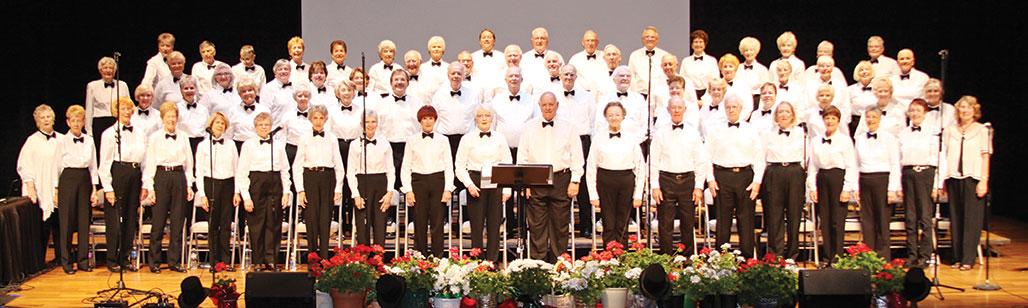 The SaddleBrooke Singers in concert.