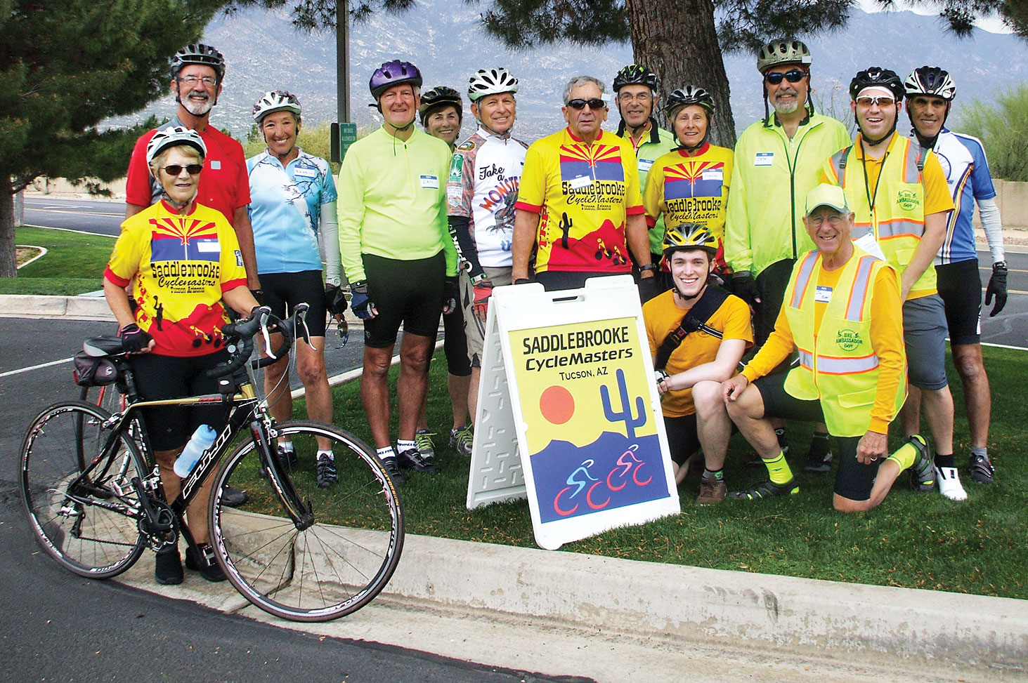 The CycleMasters learn safe cycling habits.