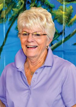 Club Champion Janet Rasmusson