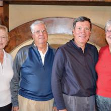 Wanda Hutchinson, Roger Bales, Roger Cady and Betty James