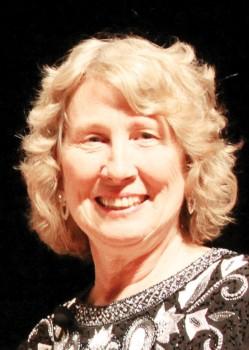 Linda Griffin will conduct her last season as Director of the SaddleBrooke Singers; photo taken by Jim Van Brocklin.