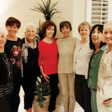 Vivian Herman, Dianne Bank, Claudia Booth, Ann Kurtz, Janifer Farquhar, Laurie Page, Caryl Mobley and Linda Schuttler