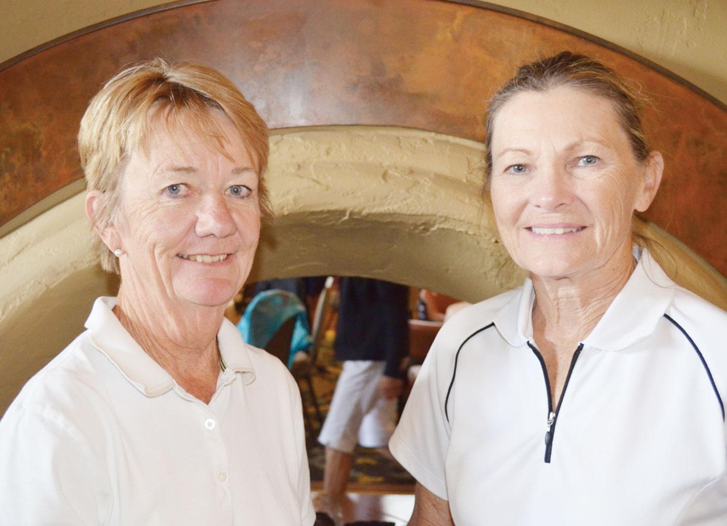 Francie Entz and Peggy DeBacco