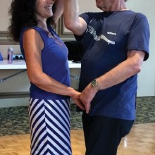 Mary and Dave Perform the Merengue