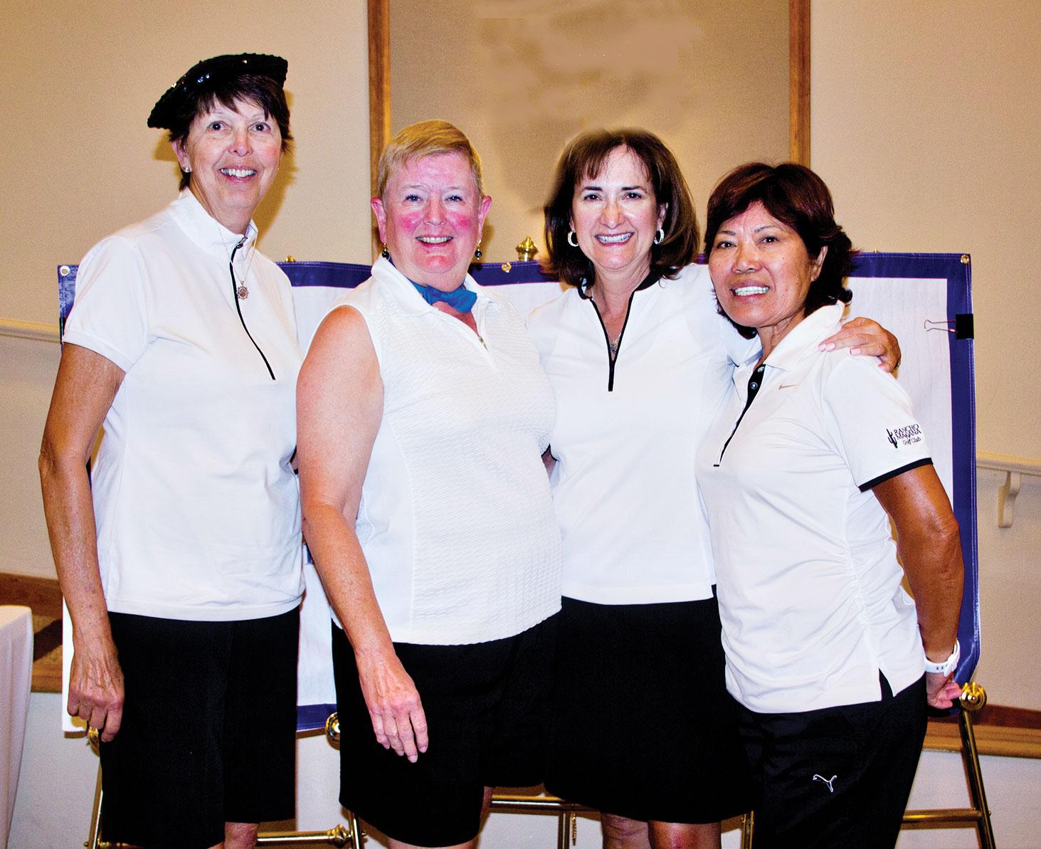 White Glove Winners: Geri Sandilands, Debbie Ogle, Diane Marchand and Takeyo Eakin