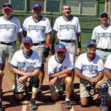 2015 Spring Season Tuesday Competitive League Champion – BRAKEmax: Back row: Stu Kraft, Dave Fuller, Bobby Carbone and Harold Weinenger; front row: Larry Weber, Don Jones, Don Cox, Ron Quarantino and Leonard Gann; photo by Pat Tiefenbach