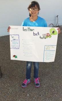 Natalye Pinedo attends Science Camp