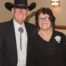 Caller Larry Kraber with his wife Bonnie