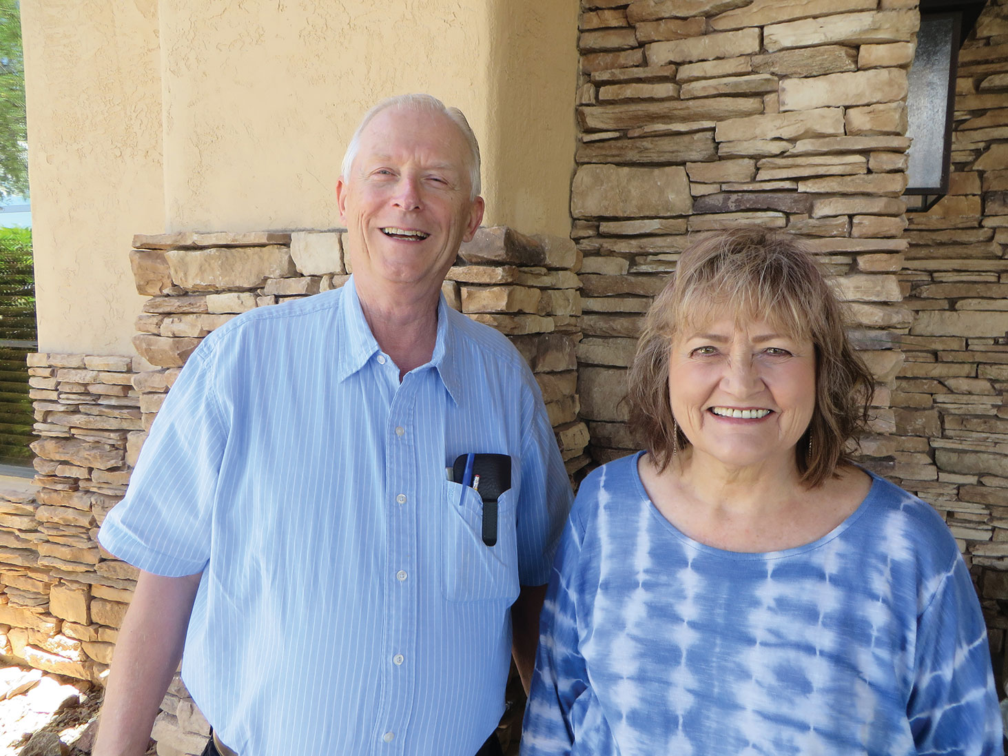 Resurrection Church is much blessed to have Charles Riddell and Susan Tjossem as Choir Director and Accompanist.