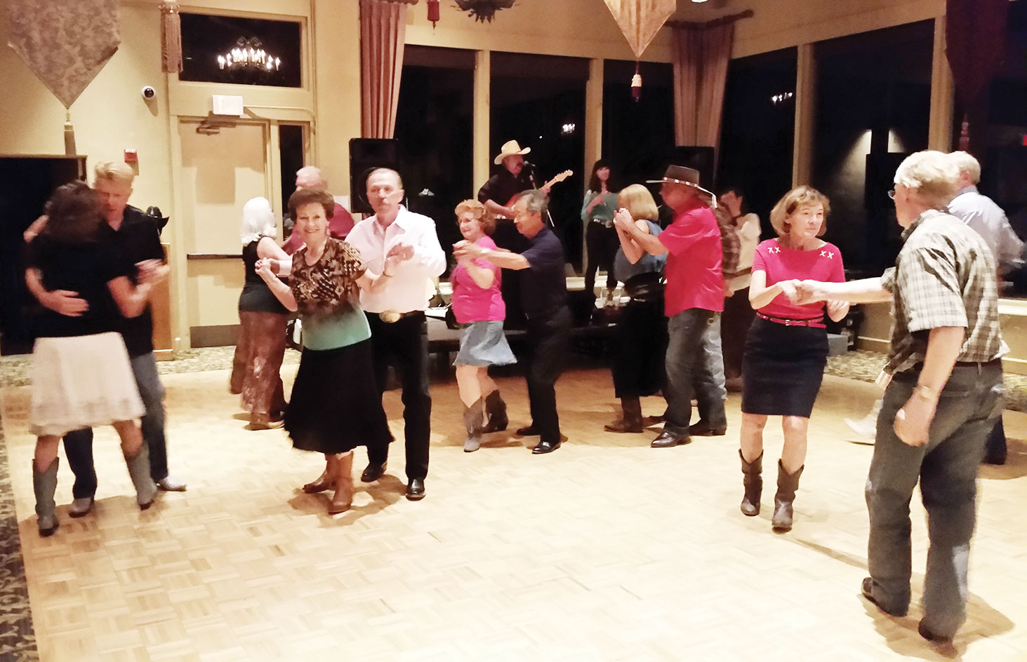 Dancing keeps you young at heart.