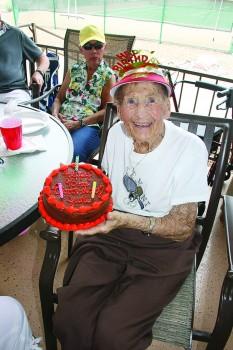 June Buntain celebrates 93 years