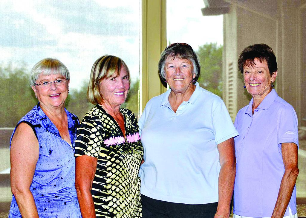2nd place 2015 – Abbie Egolf, Kathleen Houser, Doris Dieterle and Kay Davis