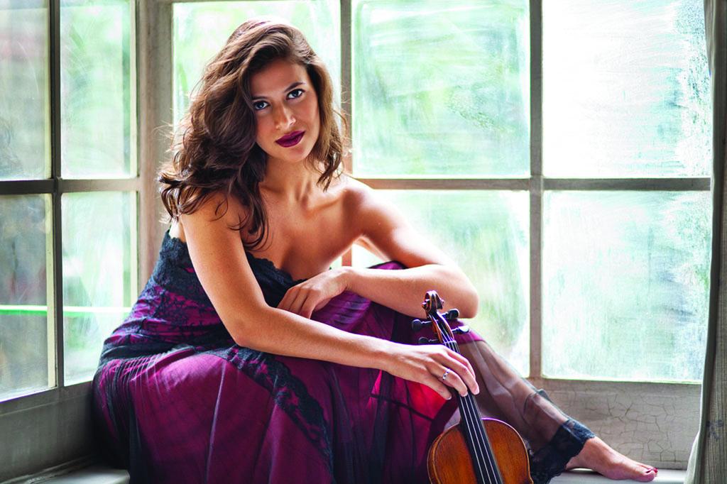 Soloist Elena Urioste