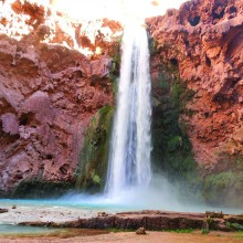 Mooney Falls on Havasupai Reservation