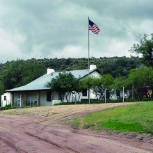American Flag Ranch – a historic structure on the Arizona National Scenic Trail