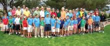 First Tee members and volunteers