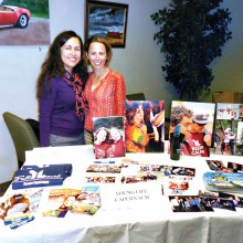 Andrea Schlecht from Young Lives on the left and Janet Payne from Young Life Capernaum.