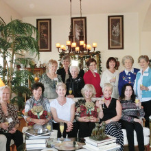 Members of the British Club had their December meeting at the home of Twink Gates-Zimdar.
