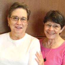 Kay Tomaszek and Raye Cobb
