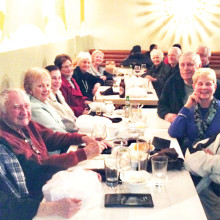 British Club members enjoyed a brilliant meal at the Saffron Indian Bistro.