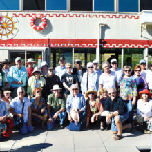 SaddleBrooke Nature Club members rode the Dolly Steamboat on Canyon Lake.
