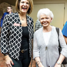 Dr. Kelli Ward and Sharon Walker; Photo by Jet George