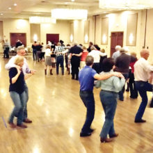 Western dancers at the February 19 dance